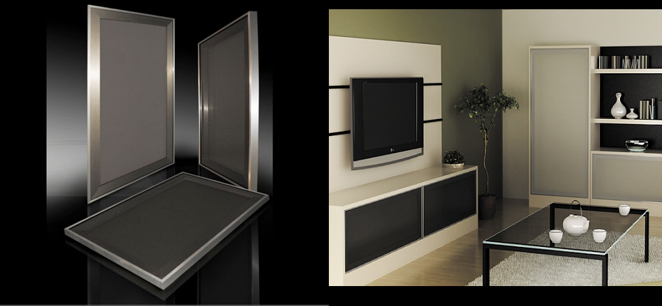 Stainless Steel Frosted Glass Cabinet Doors brushed aluminum cabinet doors « aluminum cabinet doors