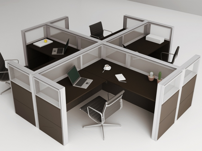 """Office Line """"Cross Shaped Structure"""""""