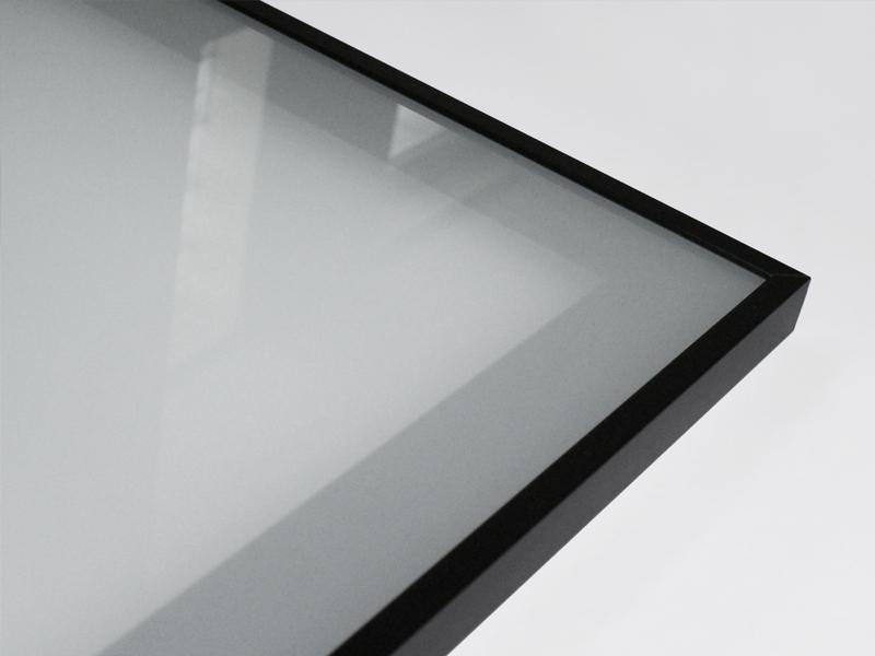 Aluminum Cabinet Door Modena with Lacomat Glass