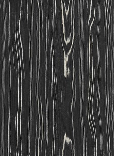 black and white ebony