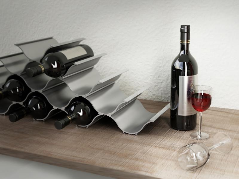 Aluminum Wine racks