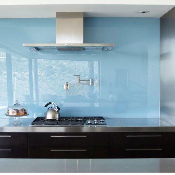 Glass Backsplash Panel