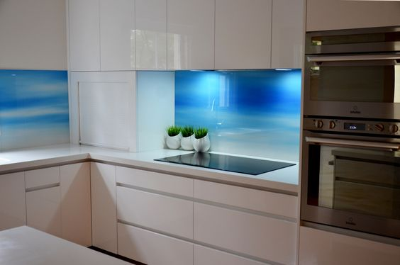 Glass Backsplash Panels